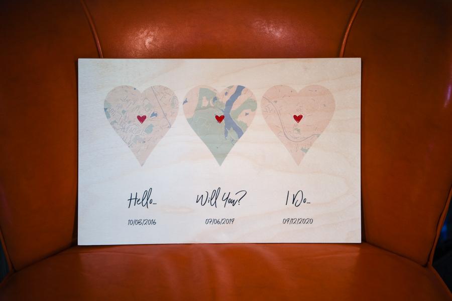 Wedding Details Washingtonville New York FEAST at Round Hill